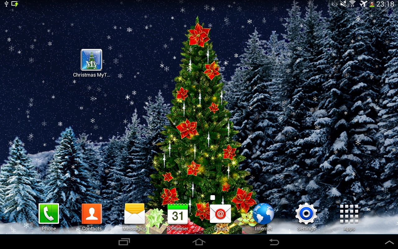 Christmas Mytree Live Wallpaper